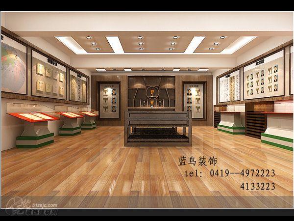 金部队第四支队荣誉室 设计展示 蓝鸟装饰工程有限公司