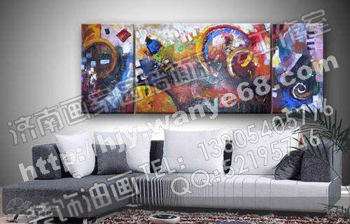 设计展示 济南画家园墙面彩绘工作室